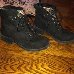 Suede Rock & Candy ankle boots